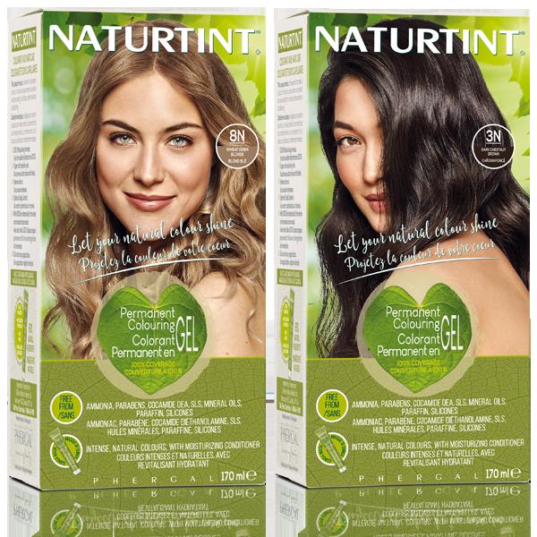 Permanent hair color - 3N & 8N